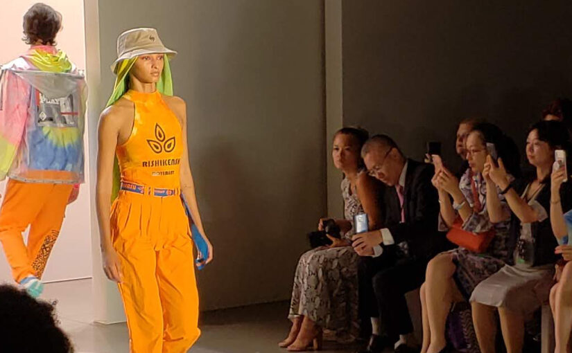 Liu Yong x Rishikensh SS20 Collection at NYFW